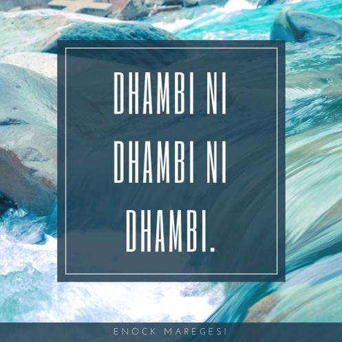 Dhambi