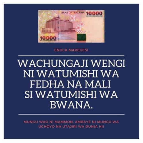 Wachungaji