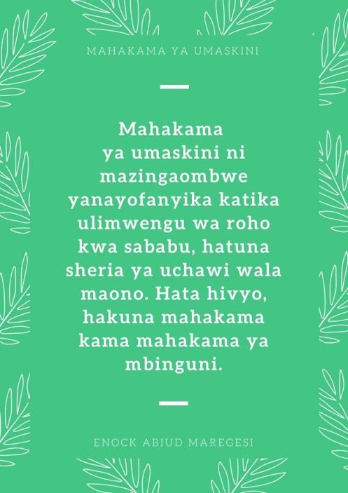 Mahakama