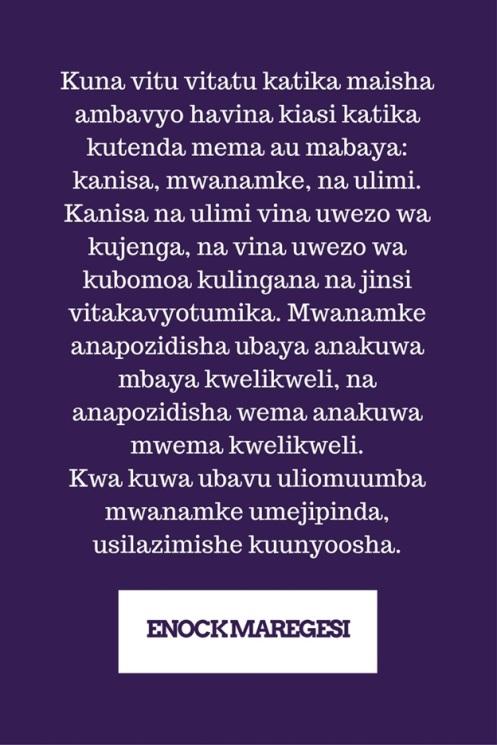 Mwanamke