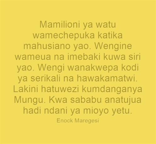 Mamilioni ya Watu
